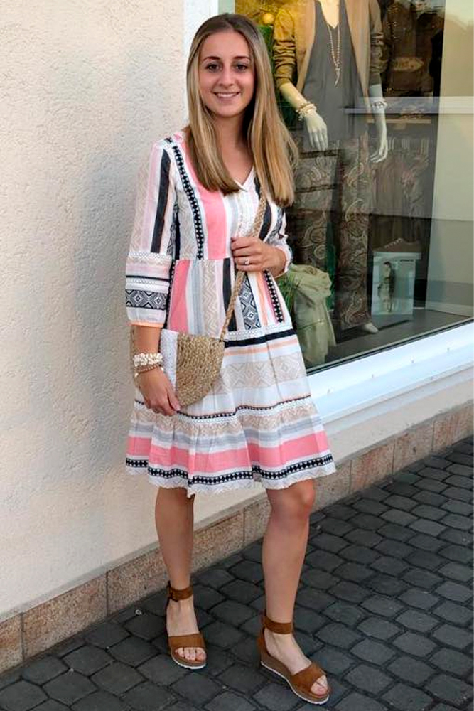 Sommeroutfit: Boho Kleid