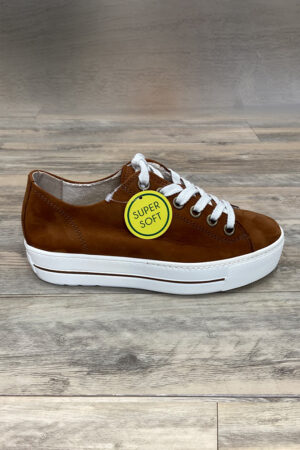 Sneaker von Paul Green, Cognac
