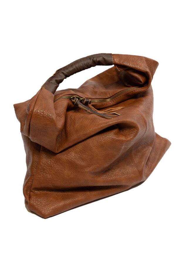 Tasche in Lederoptik